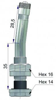 Вентиль латунный б/к  65758-68